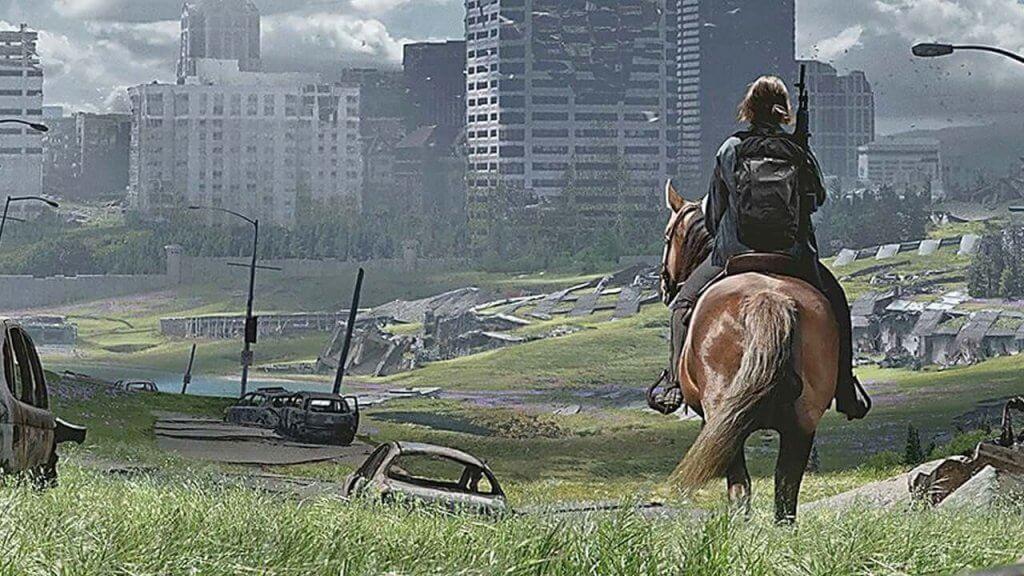 The last of us part II - Ellie à cheval